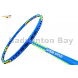 ~Out of stock Apacs Dual Power & Speed TACTICAL Blue (4U) Badminton Racket