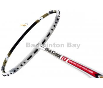 Apacs EdgeSaber 10 White Badminton Racket (4U)
