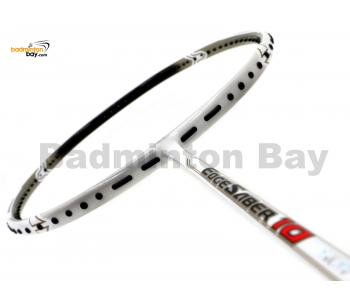 Apacs EdgeSaber 10 White Badminton Racket 4U