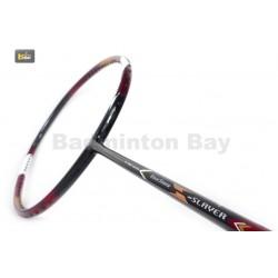 30% OFF (B) Apacs EdgeSaber Z Slayer Black Gold Compact Frame (4U) Badminton Racket With Slight Paint Defect (Refer picture)