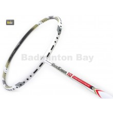 Apacs EdgeSaber 10 White Badminton Racket (4U)