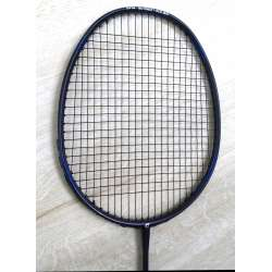 25% OFF Apacs Feather Weight 500 Badminton Racket (7U) Strung with Black Fleet Ultramax Turbo Nano 66 String @ 24 lbs