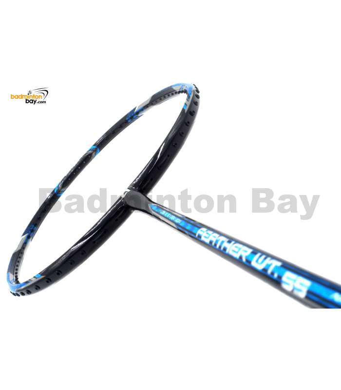 Apacs Feather Weight 55 Black Badminton Racket (8U) Worlds Lightest Badminton Racket