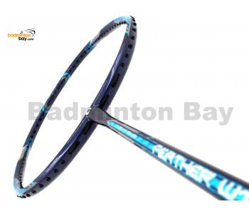 Apacs Feather Weight 55 Navy Blue Badminton Racket (8U) Worlds Lightest Badminton Racket