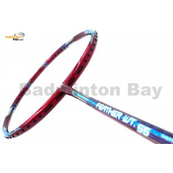 Apacs Feather Weight 55 Red Badminton Racket (8U) World's Lightest Badminton Racket