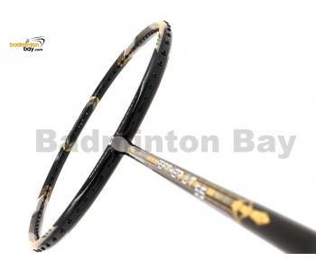 Apacs Feather Weight 55 Black Gold Badminton Racket (8U) Worlds Lightest Badminton Racket