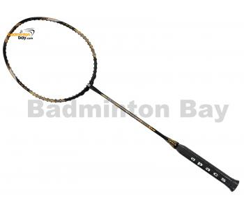 Coming Soon, Pre-order Available: Apacs Feather Weight XS Black Gold Badminton Racket (8U) Worlds Lightest Badminton Racket