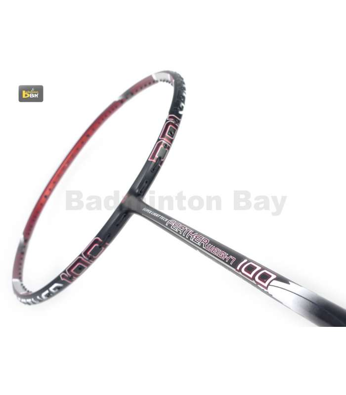 ~Out of stock Apacs Feather Weight 100 Badminton Racket (6U)