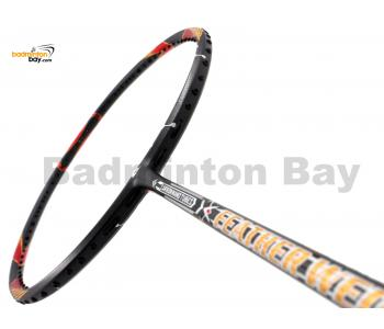 Apacs Feather Weight 200 Dark Grey Badminton Racket (7U)