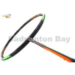 Apacs Ferocious 22 Black Badminton Racket 4U (World Slimmest Badminton Shaft)