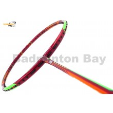 Apacs Ferocious 22 Red Badminton Racket 4U (World's Slimmest Badminton Shaft)