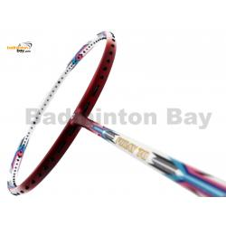 Apacs Foray 70 White Red Matte Badminton Racket (4U)