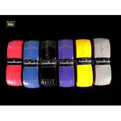 Badminton Bay Racket Hyper PU 1 grade higher than Super PU Replacement Grip PU111 (6 Pieces)