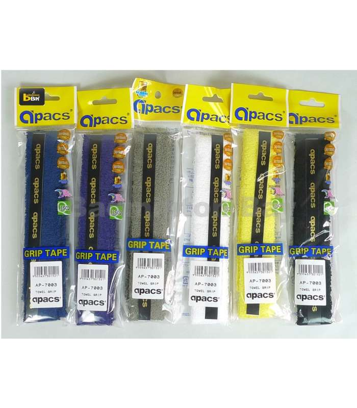 ~Out of Stock~ Apacs Towel Grip (6 pieces) for Badminton Racket AP-7003
