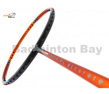 Apacs Imperial Accurate Dark Grey Orange Badminton Racket (5U)