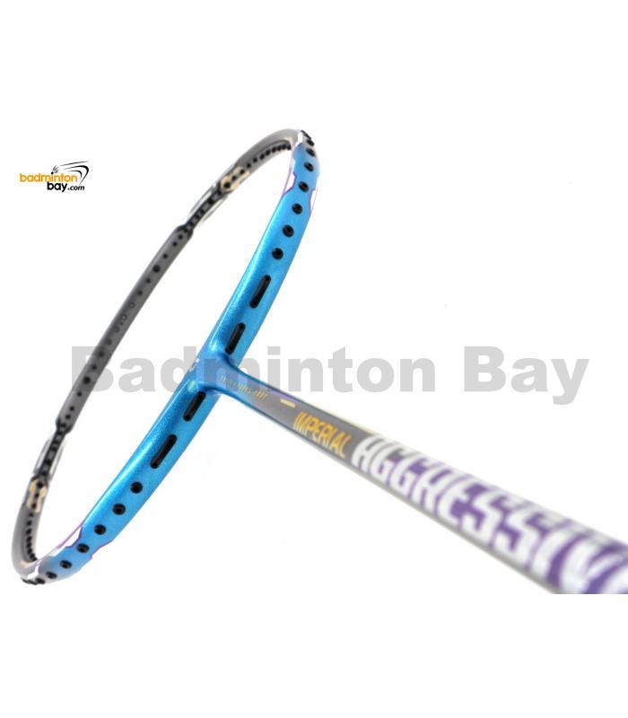 Apacs Imperial Aggressive Blue Grey Badminton Racket (5U)