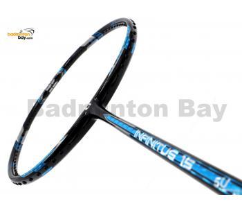 Apacs Infinitus 15 Black Metallic Blue Badminton Racket (5U)