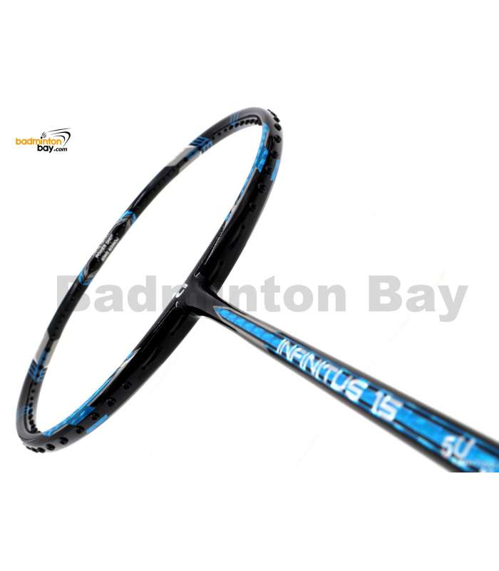 Apacs Infinitus 15 Black Metallic Blue Badminton Racket (5U)