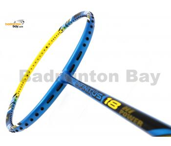 Apacs Infinitus 18 Blue Yellow Badminton Racket (4U)