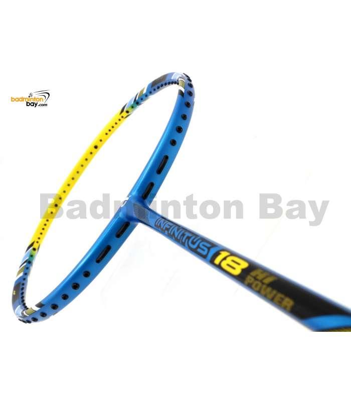 Apacs Infinitus 18 Blue Yellow Badminton Racket (4U)
