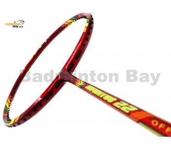 Apacs Infinitus 22 Red Badminton Racket (4U)