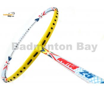 Apacs Infinitus 25 White Yellow Badminton Racket (4U)