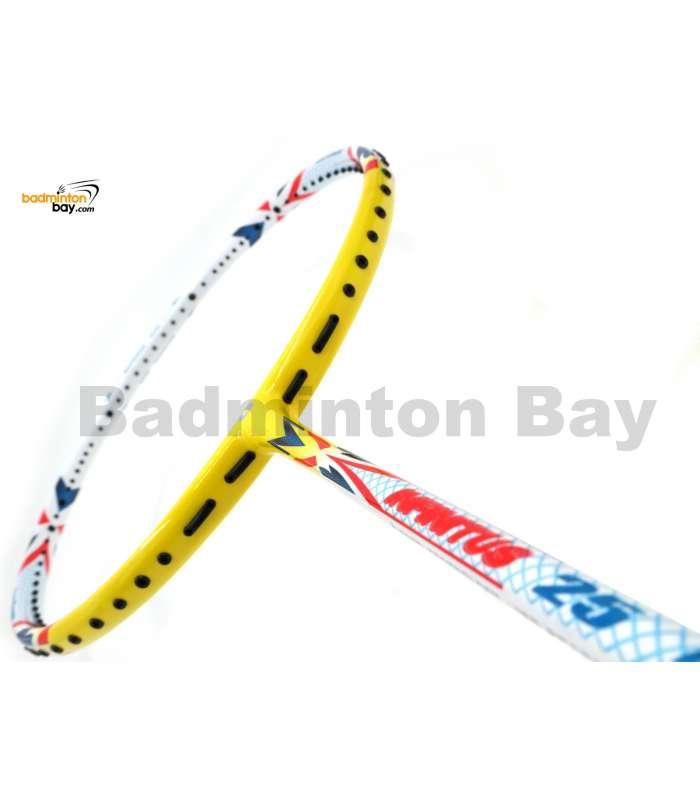 Apacs Infinitus 25 White Yellow Badminton Racket (4U)