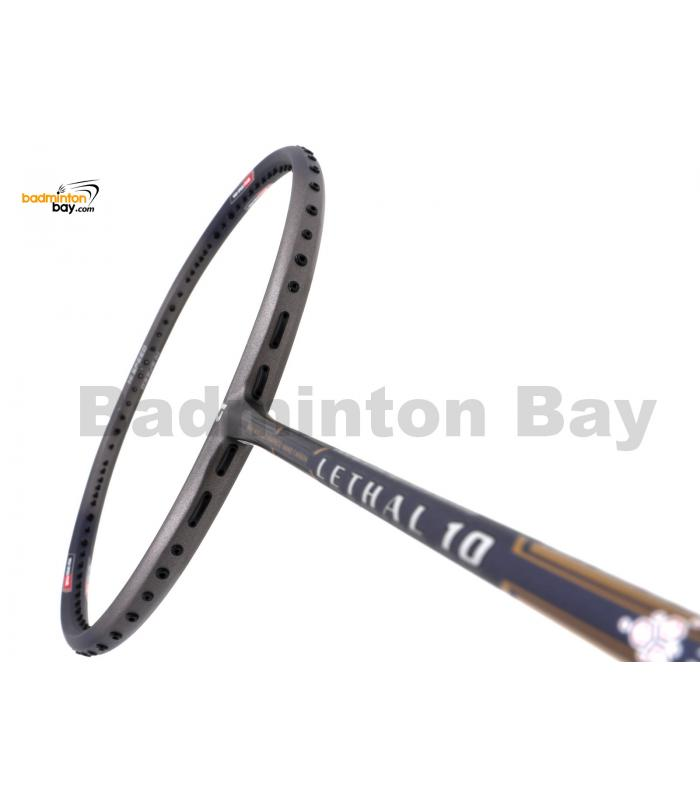 Apacs Lethal 10 Grey Navy Badminton Racket (4U)