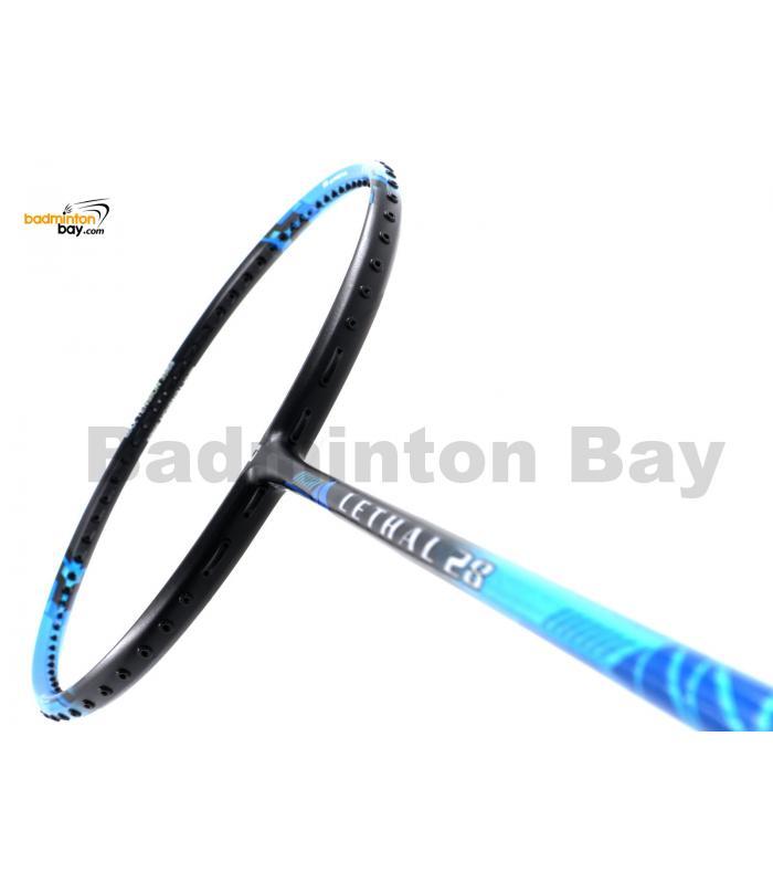 Apacs Lethal 28 Black Blue Badminton Racket (5U)
