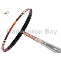 Apacs Lethal 60 III Black Orange Glossy Badminton Racket (4U)