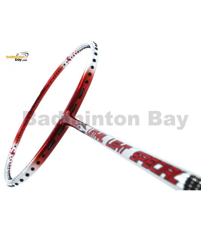 Apacs Lethal Light Special Red Badminton Racket (6U)