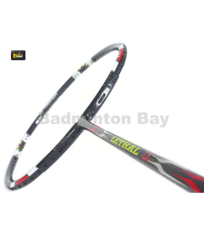 ~ Out of stock  Apacs Lethal 12 Badminton Racket (5U)