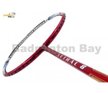 Apacs Lethal 8 Black Red (4U) Badminton Racket