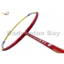 Apacs Lethal 8 Yellow Red (4U) Badminton Racket