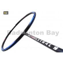 Apacs Lethal 9 Black Blue Badminton Racket (4U)