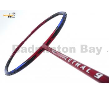 Apacs Lethal 9 Red Blue Badminton Racket (4U)