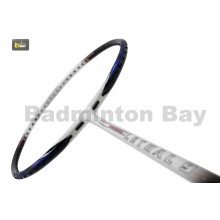 Apacs Lethal 9 White Blue Badminton Racket (4U)