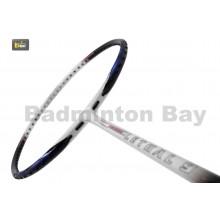 Apacs Lethal 9 White Blue Badminton Racket (4U)