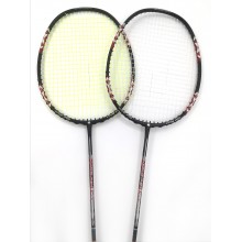 30% off  2 pieces Apacs Lurid Power 21 Badminton Racket Strung with Fleet Ultramax Turbo Nano 66 String (0.66mm) at 24 lbs.