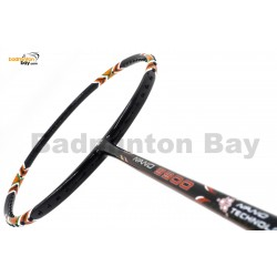 30% OFF Apacs Nano 9900 Badminton Racket Strung with Black Abroz DG67 Power String @ 23 lbs