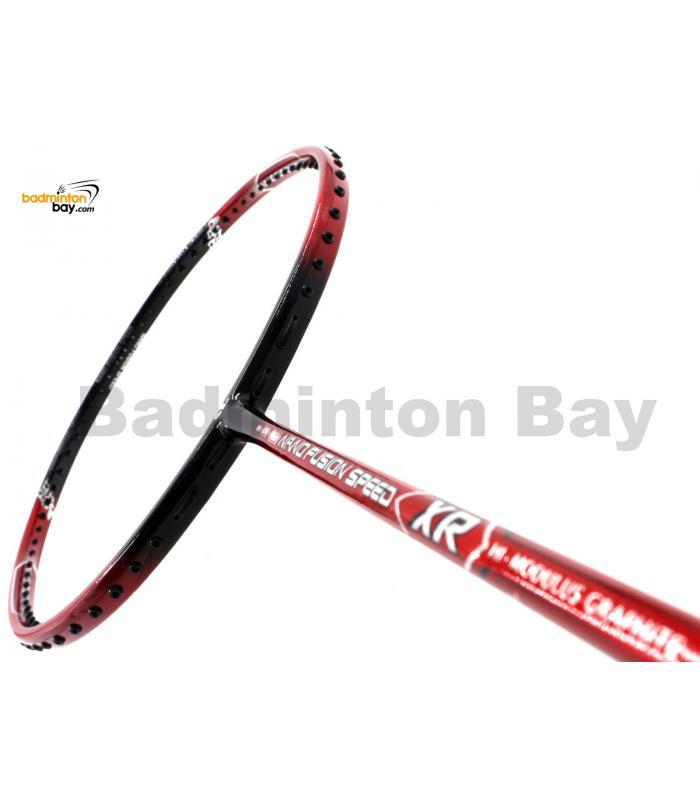 Apacs Nano Fusion Speed XR Red Black (6U) Badminton Racket