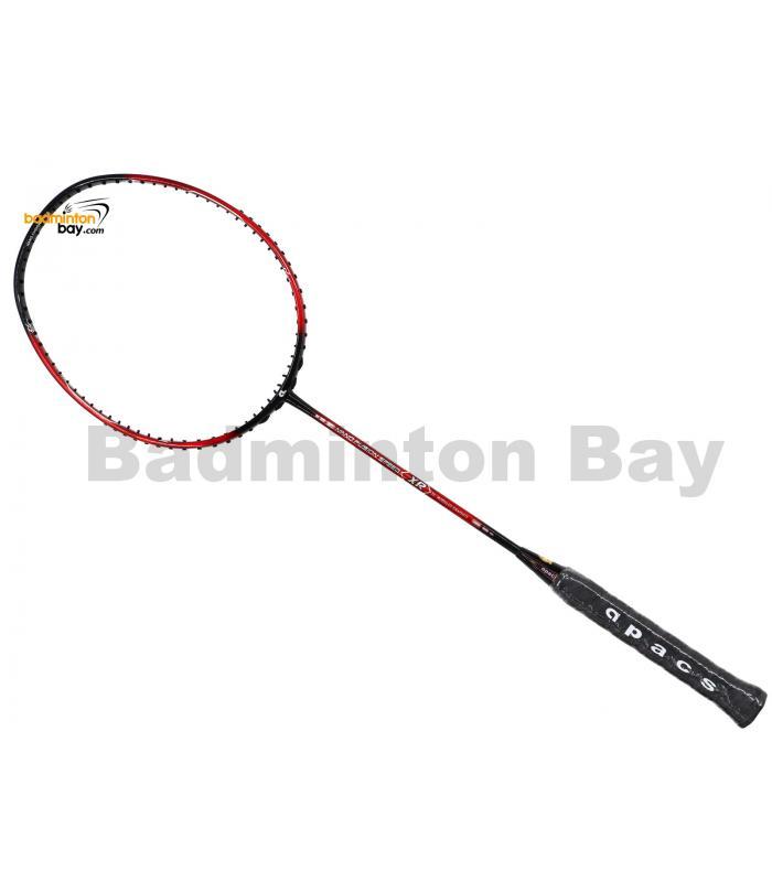 Coming Soon, Pre-order Available: Apacs Nano Fusion Speed XR Red Black (6U) Badminton Racket
