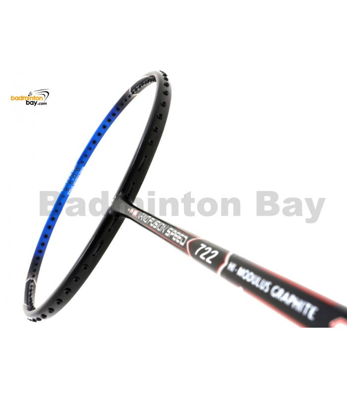 Apacs Nano Fusion 722 Speed Black Blue Matte (6U) Badminton Racket