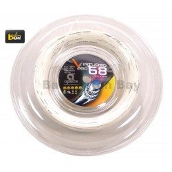 200m Reel - Apacs Virtuoso Pro 68 (0.68mm) Badminton String Made in Japan - Hard Feel