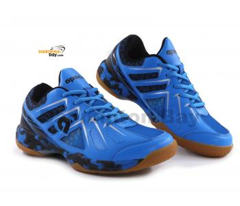 Apacs Cushion Power SP-609-YS Blue Black Badminton Shoes With Improved Cushioning