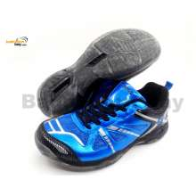 Apacs Cushion Power 070 Blue Badminton Shoes With Transparent Outsole and Improved Cushioning