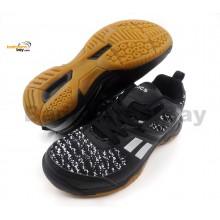 Apacs Cushion Power 073 Black Badminton Shoes With Improved Cushioning