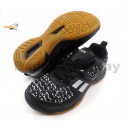Apacs Cushion Power 073 Black Badminton Shoes With Improved Cushioning