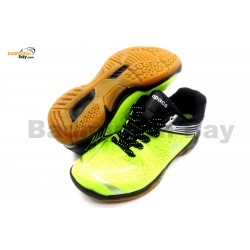 Apacs Cushion Power 076 Neon Green Badminton Shoes With Improved Cushioning