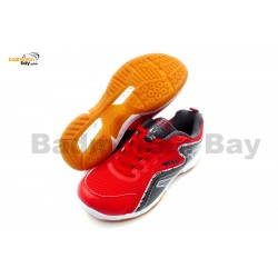 Apacs Cushion Power 077 Red Badminton Shoes With Improved Cushioning